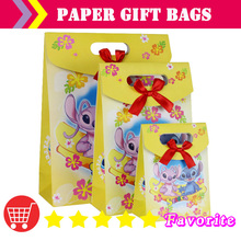OEM paper bags with logo / baby birthday / lovely /Christmas bag/hot stamping/packaging bag#100162 small-cn shipping