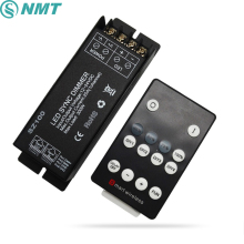 300W 25A DIY Led Controller Dimmer DC12V 24V RF Wireless Remote to Control Single Color Led Strip Light SMD 3528 5050 5630(China)