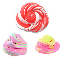 60ml Fluffy Foam Slime Putty Stress Relief Magic MultiColor Slime Sludge Cotton Mud Toy slime toys antistress toys plastice clay(China)