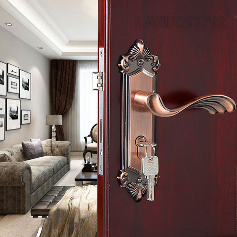 Manufactruer Selling Zinc Alloy Handle Lock Room Mute Lockset Accessories Exquisite Fashionable Locks<br><br>Aliexpress