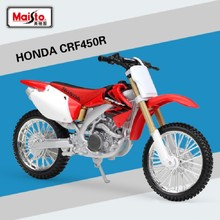Maisto 1:12 Scale Honda CRF450R Motorbike Race Diecast Motocross Alloy Metal Motorcycle Model For Kids Toys Free Shipping(China)