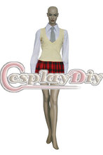 Cosplaydiy Free Shipping Customized Anime Cosplay Costume Soul Eater Maka Albarn Uniform Cosplay Costume