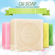 100g Natural Essential Oil Soap Anti Acne Whitening Soap Deep Cleansing Oil-Control Face Wash Hair Care Bath Essential oil Soap