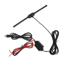 12V Female Connector Car Digital TV Antenna Amplifier Booster 3M Cable