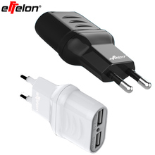 Effelon USB Charger 5V 2.1A Fast Charger EU Travel Charger USB Wall Mobile Phone Charger for iPhone/Samsung/iPad/Tablet(China)