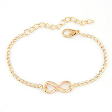 HOT Brand 2017 Fashion New Women Men Handmade Gift Charm 8 Shape Jewelry Infinity Bracelet