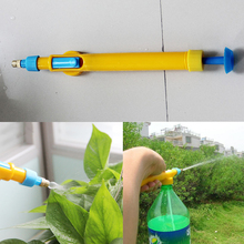 2016 Hot Sale Mini Juice Bottles Interface Plastic Trolley Gun Sprayer Head Water Pressure Watering Nebulizer Head Sprinklers