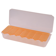Large 7 Compartments Lid Tablet Box Case Organizer Week Storage Holder Case Travel Medicine Drug Pill Case Health Care(China)