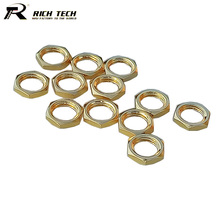 50pcs/lot High Quality Gold Plated SMA Screw Nut for SMA RF Coaxial Connector Wholesale Brand New