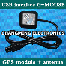 USB interface G-MOUSE/GPS module antenna/CT-USB/complimentary driver software(working 100% Free Shipping)1PCS