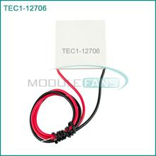 5pcs TEC1-12706 12706 TEC Thermoelectric Cooler Peltier 12V New of semiconductor refrigeration TEC112706 Heatsink Plate Module