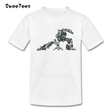 Transformer Boys Girls T Shirt Cotton Short Sleeve Round Neck Tshirt children's Clothes 2017 Discount T-shirt For Baby