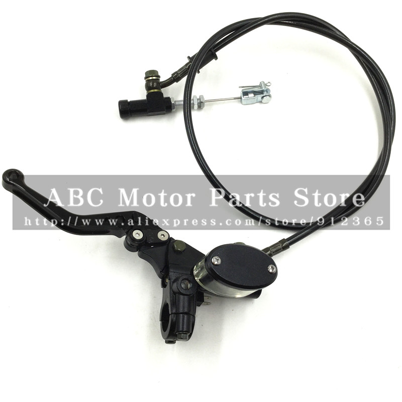 Hydraulic Clutch Lever master cycliner refitting dirt bike pit bike Motocross motorcycle with mirror mounts Transparent oil cup<br><br>Aliexpress