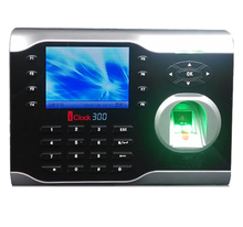 ZK Iclock300 8000 Fingerprints High-Speed TCP/IP Fingerprint Time Attendance With 125Khz RFID Card & Finerprint time clock