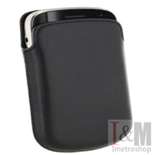 GENUINE  FOR BLACKBERRY LEATHER POCKET POUCH 9900 BOLD 9700 BOLD Phone Leather Phone package