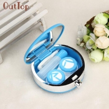 2017 New Perfume Bottle Retro Shaped Contact Lens Case Box Container Holder Box Beauty Girl M20X20