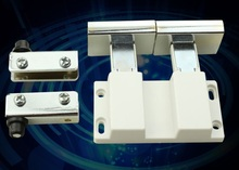 4Sets/Lot Stainless Steel Push To Touch Catch Latch Display Cabinet Double Glass door fitting,push magnet Showcase