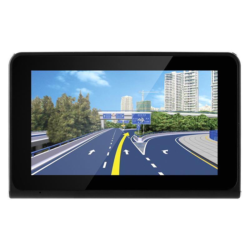 Car DVR Dash Cam - Anti-Radar Detector, GPS Navigation, Android OS, Quad-Core CPU, 7 Inch Display, WiFi, 1_2.5 Inch CMOS20170621_0143