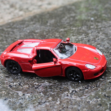SIKU 1:64 metallic material Sports car Porsche Alloy car model Open the door Children's toys Decoration Children like the gift(China)