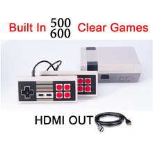HDMI Out Mini Portable TV Handheld Game Console Video Game Console Built-in 500/600 Different Games PAL&NTSC With HDMI Output(China)