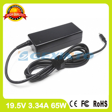 19.5V 3.34A 65W laptop AC adapter charger 43NY4 for Dell Inspiron 15 3551 3552 3558 5551 5552 5555 5558 5559 7568 P47F P51F(China)