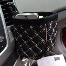 Car Styling Auto air Condition Outlet Storage Bag Pocket Glasses Drinks Holders Clip for VW Polo Ford Nissan Peugeot Toyota KIA(China)