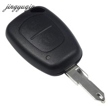 jingyuqin 2 Button Remote Car Key Cover FOB Shell Case For Opel Vivaro Movano Renault Traffic Kangoo For Nissan Vauxhall(China)
