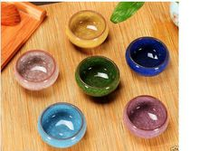 Top China yixing Purplr Sands Ice Cracked Glaze 6pcs/6 colors
