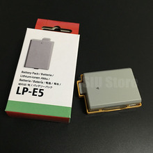 LP-E5 LP E5 LPE5 Rechargeable Digital Camera Battery Pack For Original Canon EOS 450D 500D 1000D KISS X2 X3 F Rebel XS XSi T1i