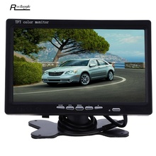 Car Rear View Monitor 7 Inch TFT LCD 234 x 480 Pixe x 4l Screen with Remote Control Universal Car Headrest  LCD Screen Monitor