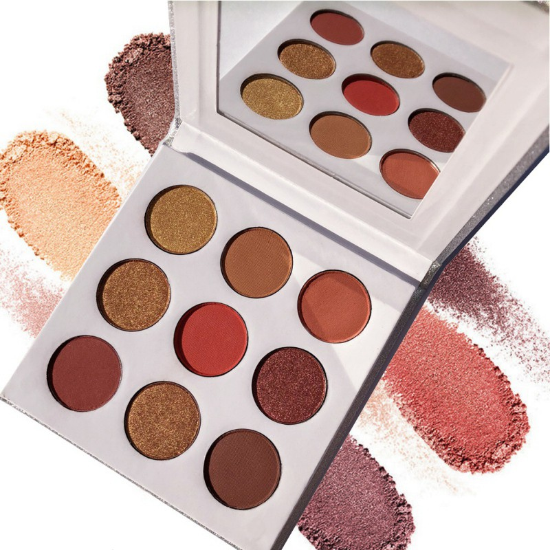 9Colors Eye Shadow Palette Natural Shimmer Matte Eyeshadow Powder Brand Professional Eyes Makeup Pallete Maquiagem 5
