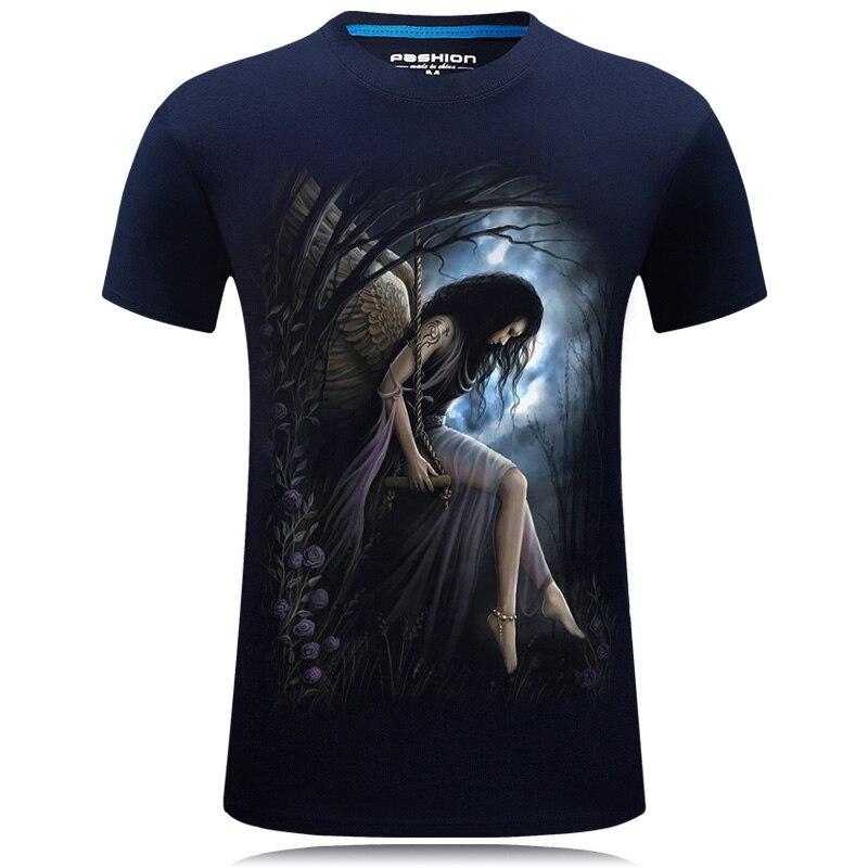 HTB1cPACQXXXXXbJXpXXq6xXFXXXP - 2017 Summer New 3D T Shirt Men's Short-sleeve Fashion O-Neck animal T-shirt Printed Casual Navy blue Male Shirts Plus size 6XL