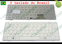 New Laptop keyboard for Asus Eee PC EeePC 700 701 701SD 900 901 900hd 900A 2G 4G 8G Series White Brazil BR Version - V072462AK1(China)