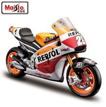Maisto 1/10 Scale Motorbike Model Toys Honda Repsol RC213V MotoGP Racing Diecast Metal Motorcycle Toy New In Box For Gift