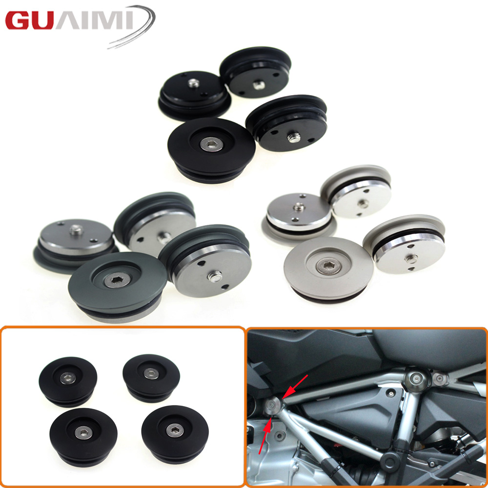 CNC Frame Plug Set (39MM) for BMW R1200 GS LC ADVENTURE<br>