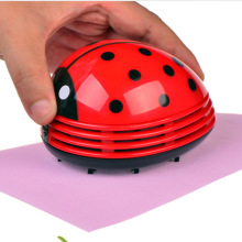 Mini Ladybug Desktop Coffee Table Vacuum Cleaner Dust Collector for Home Office