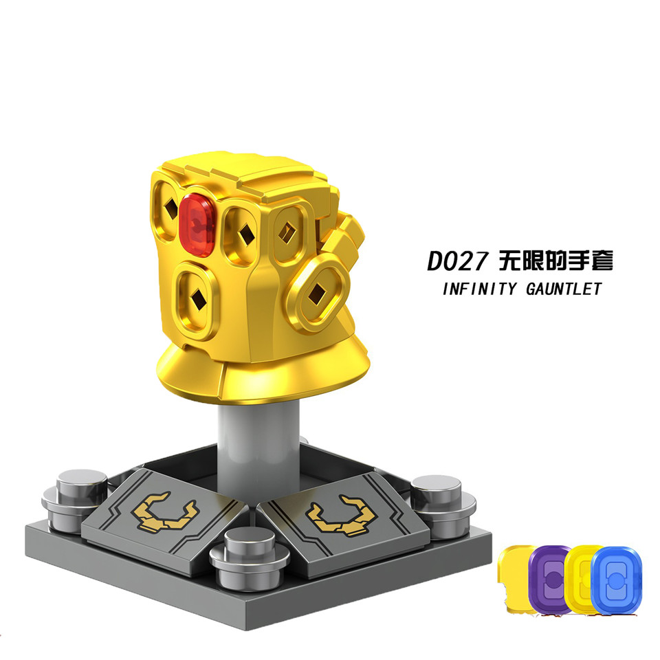 Legolingly Super Heroes Thanos Black Dwarf Figure Set Thanos Infinity Glove Building Blocks Marvel Blocks Set Toys for Children (8)