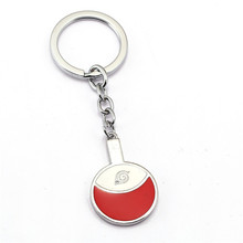 Japan Anime Naruto Keychain Leaf Symbol Key Chains Naruto Cosplay Souvenir Chaveiro For Fans Christmas Gifts 12094