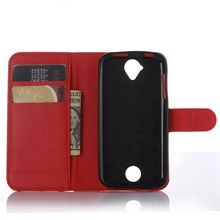 TUKE 9 Colors High Quality Elegant Luxury Magnetic Leather Wallet Skin Cover Case For Acer Z330 M330