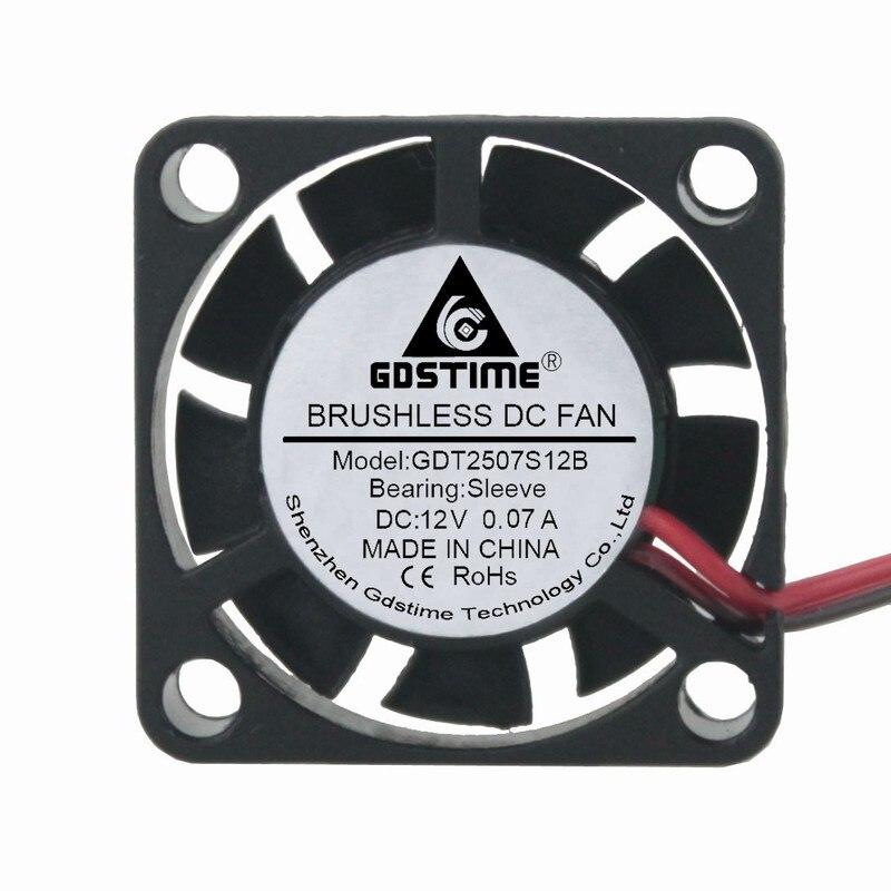 10pcs Ball Bearing 24V 30x30x10mm Brushless Cooling Cooler Fan 3cm 30mm 2pin HQ