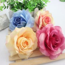 Buy 3 pcs Artificial Pink Silk Flower Flowers Wedding Car Decoration Pompom DIY Decorative Wreath Valentine's Day Fake Flowers for $1.47 in AliExpress store