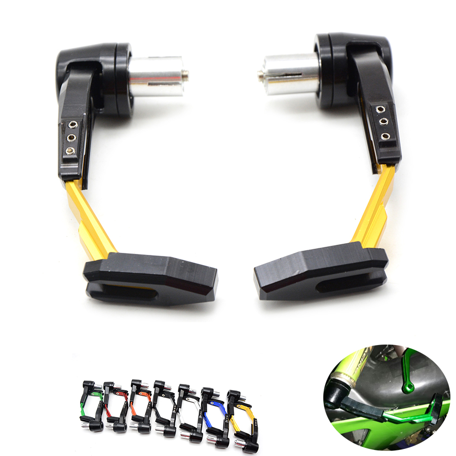 7/8 22mm Motorbike proguard system brake clutch levers protect for Bajaj Pulsar 200 NS Bajaj Pulsar 200NS All Years<br>