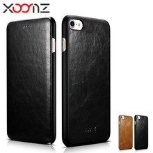 Buy XOOMZ Genuine Leather Flip Phone Case Cover IPhone 7 Plus Mobile Phone Shell Case Apple IPhone 7Plus IPhone7 Plus Case for $26.10 in AliExpress store