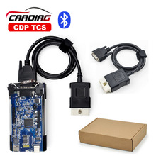 CDP TCS Plus with Bluetooth and 2015.3 keygen TCS pro for car Truck Generic OBD2 Diagnostic tool same as MVD and Multidiag pro