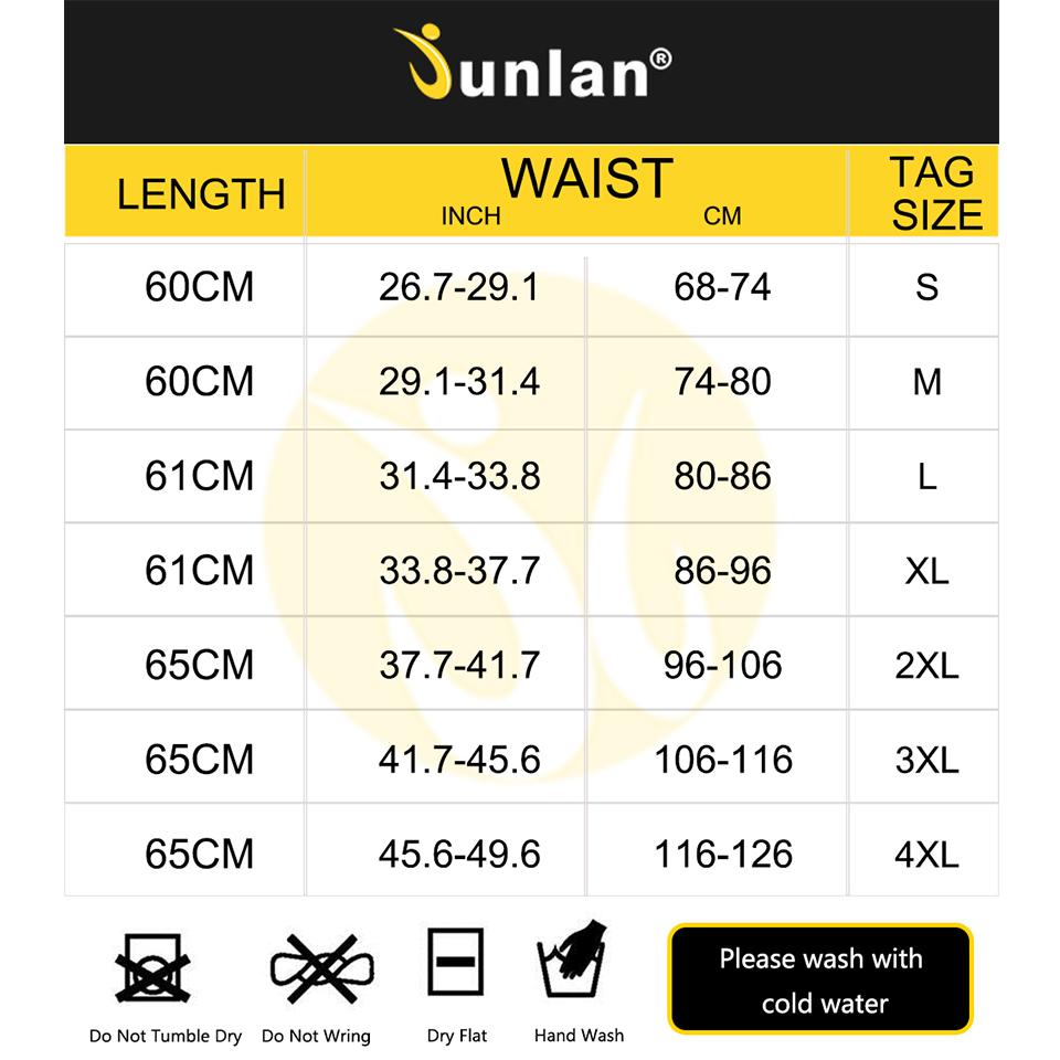 Junlan Men Sauna Vest Neoprene Slim Waist Trainer Male Body Control Bodysuit for Workout Weight Loss Corset Shapewear Strap 2