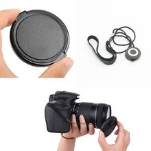 40.5mm Snap-On Front Lens Cap Keeper For Canon 18-55mm EOS Rebel T4i T3 T3i T2i