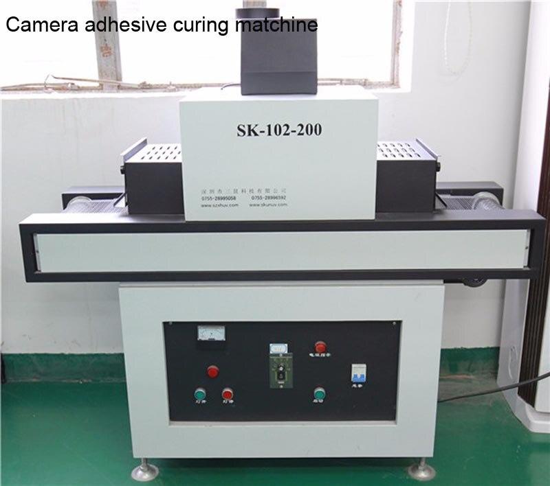 Camera adhesive curing matchine