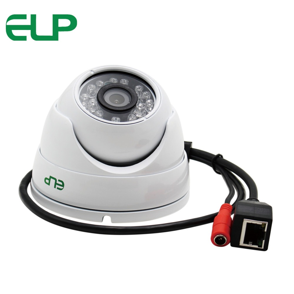 ELP 720P Mini IR LED Day&amp;Night HD Dome IP Camera, Dome Network Camera p2p cctv surveillance camera<br>