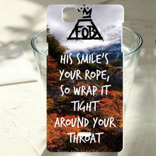 For wiko Rainbow Lenny 2 ridge 4G Pulp 4G Rainbow Jam Fever 4G sunset 2 Fall Out Boy Lyrics case Painted Phone Case Cover