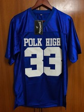 Married With Children Al Bundy 33 Polk High American Football Jersey Stitched Blue